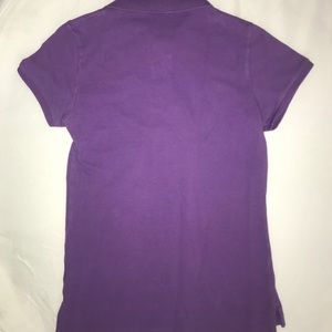 "Polo by Ralph Lauren Tops - Polo Ralph Lauren ""The Skinny Polo"" XS Purple"